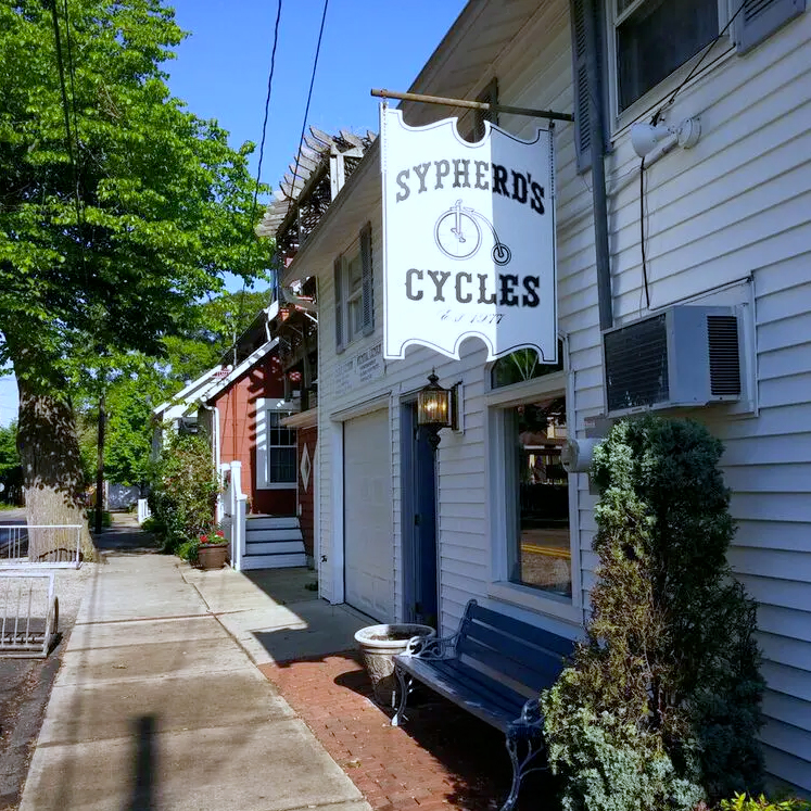 exterior of sypherd cycles' shop