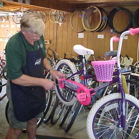 Bicycle Repair at Sypherd Cycle